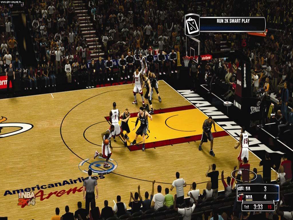 NBA2K14游戏壁纸放出 火药味十足
