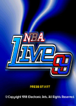 NBA LIVE 99美版