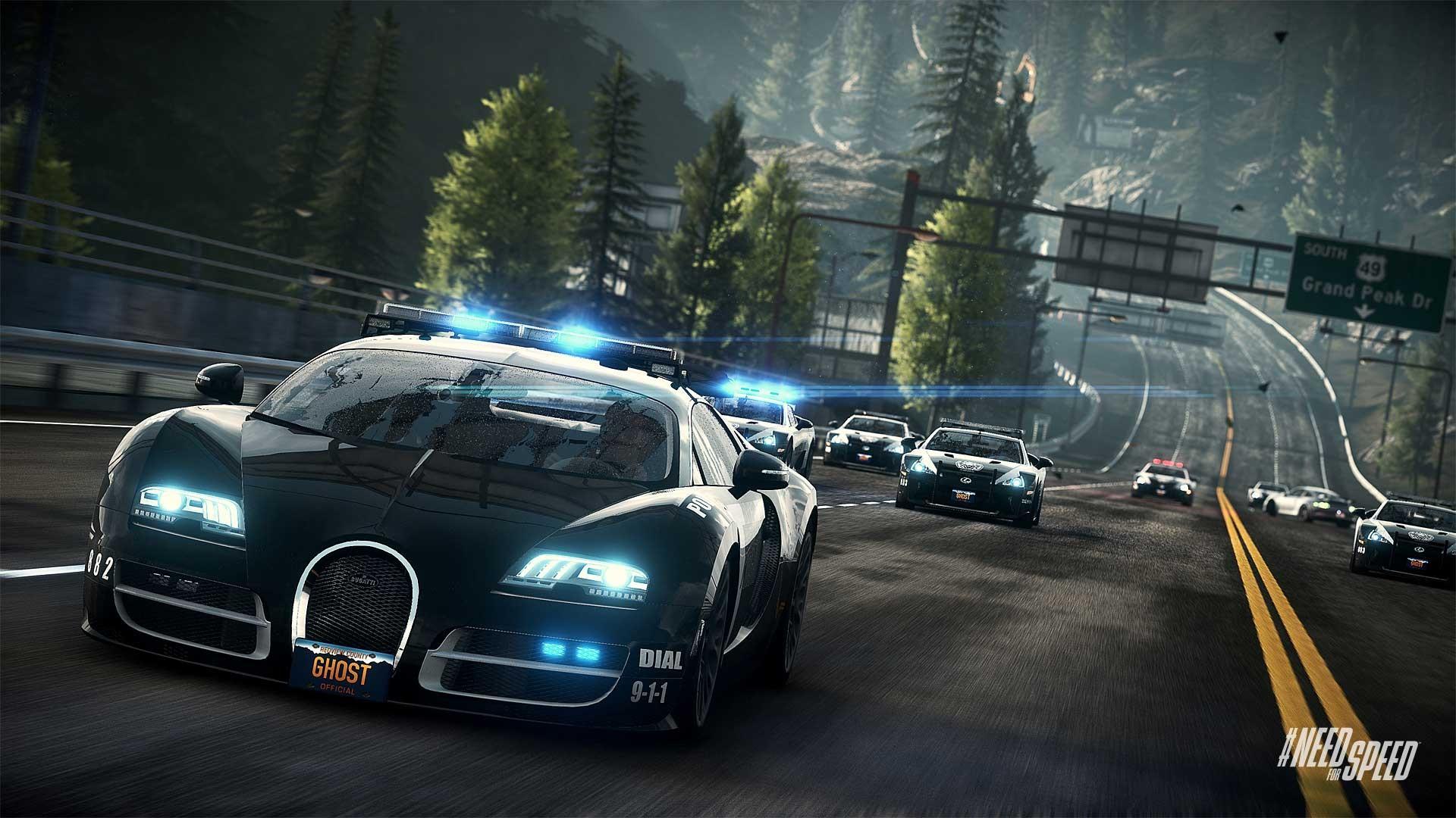 极品飞车18最新游戏截图 多款赛车任你选