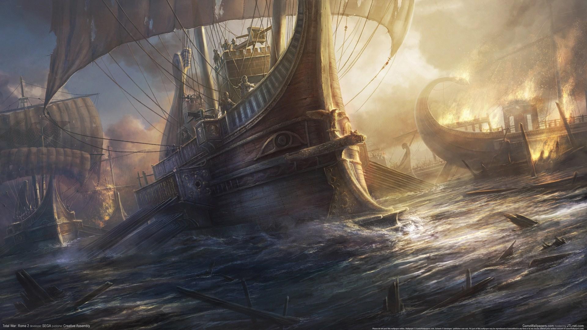 罗马2全面战争壁纸分享 最新高清游戏壁纸