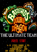 MD忍者蛙�c�p截��(Battletoads and Double Dragon)美版