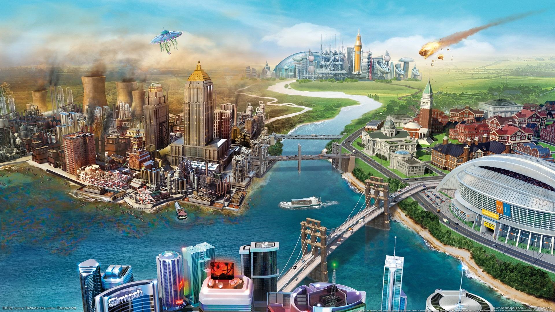 模拟城市5高清美图壁纸