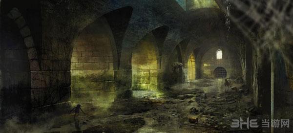 巫师3狂猎原画