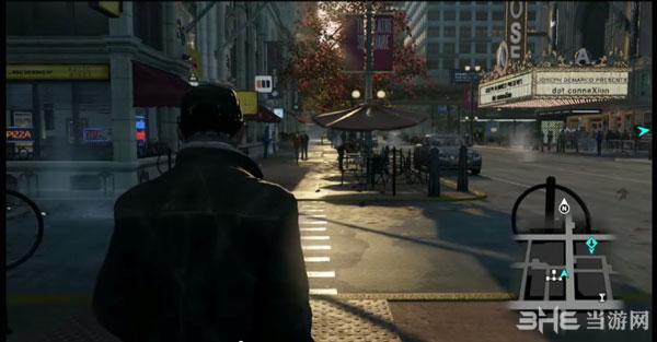 看门狗E3 2012版的画面