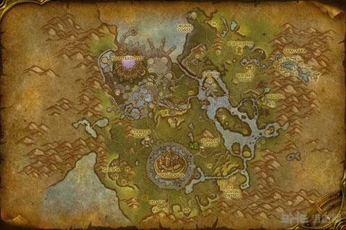 魔兽世界6.0德拉诺之王新图标地图小地图一览2