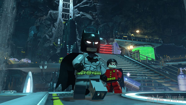 乐高蝙蝠侠3游戏截图3