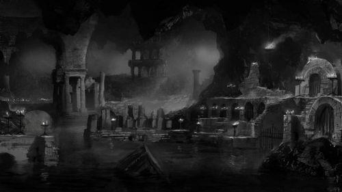 黑暗之魂2原画图片第一弹 黑暗慢慢入侵