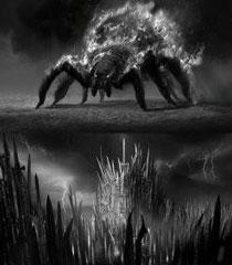 黑暗之魂2原画图