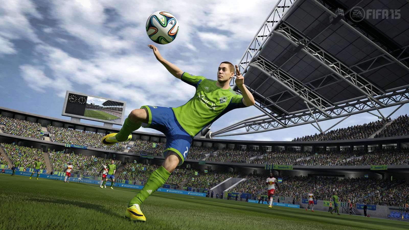 FIFA15最新游戏截图赏 高清画质令人期待