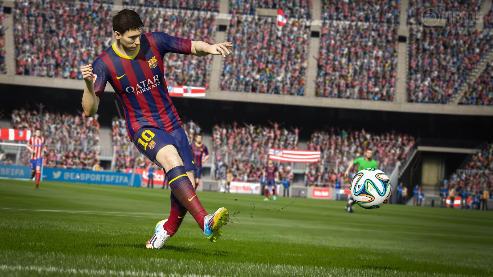 FIFA15图片欣赏 次世代画面值得期待