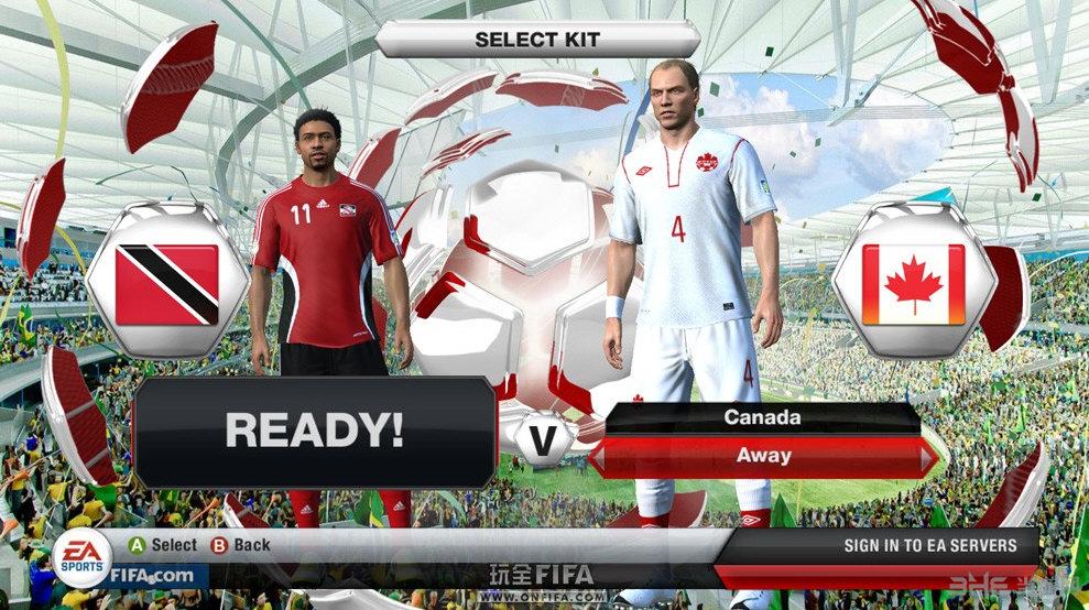 FIFA13 2014巴西世界杯之路大�a截�D1