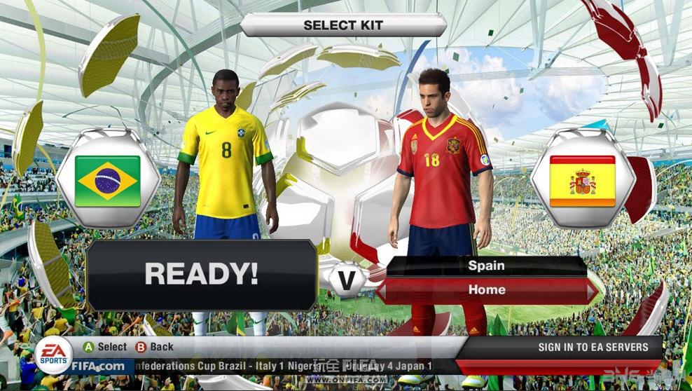 FIFA13 2014巴西世界杯之路大�a截�D3