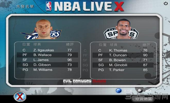 NBA LIVE X截图4