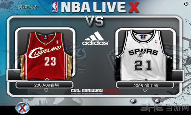 NBA LIVE X截�D3