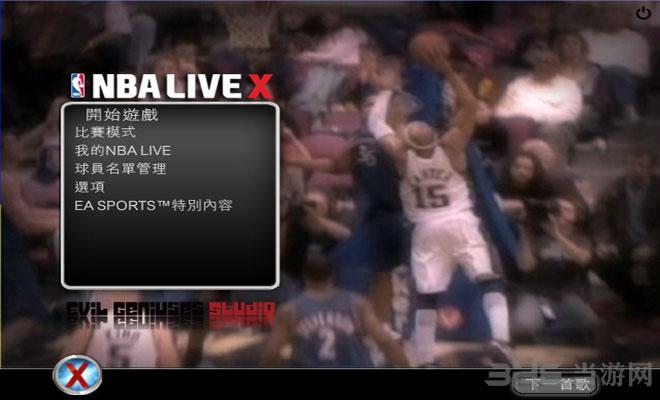 NBA LIVE X截�D0
