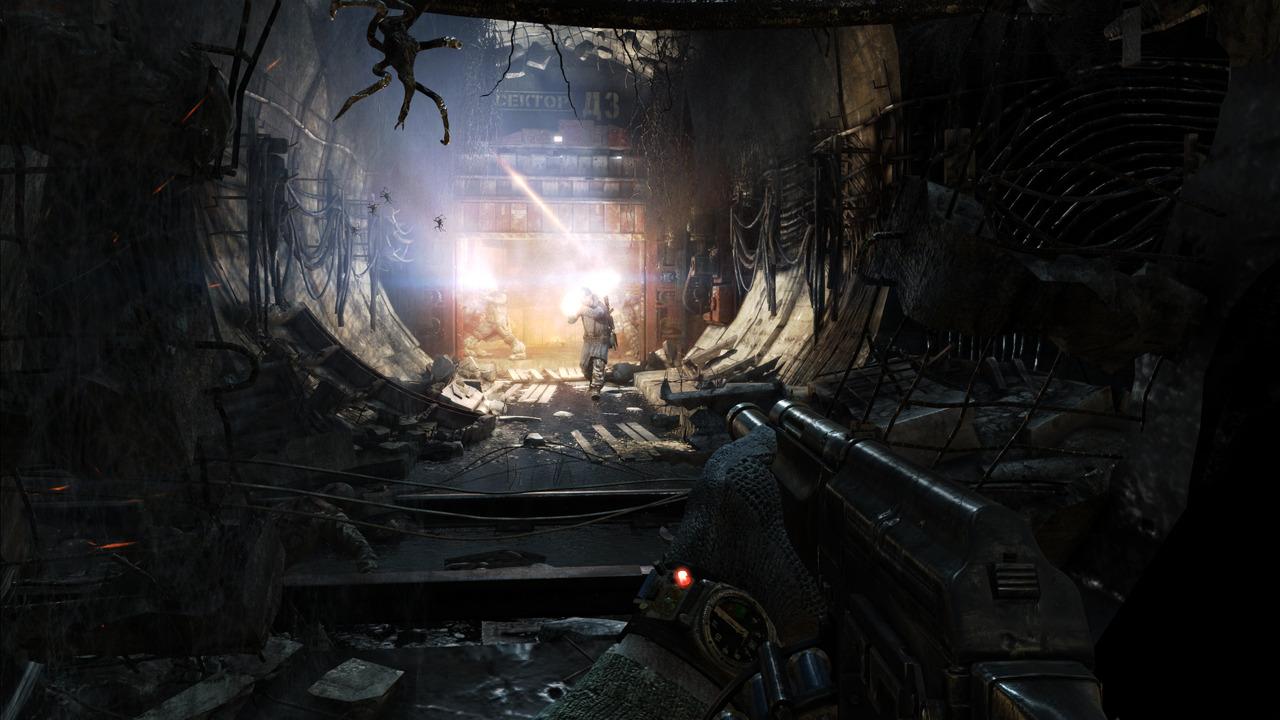 地铁最后的曙光画面截图欣赏