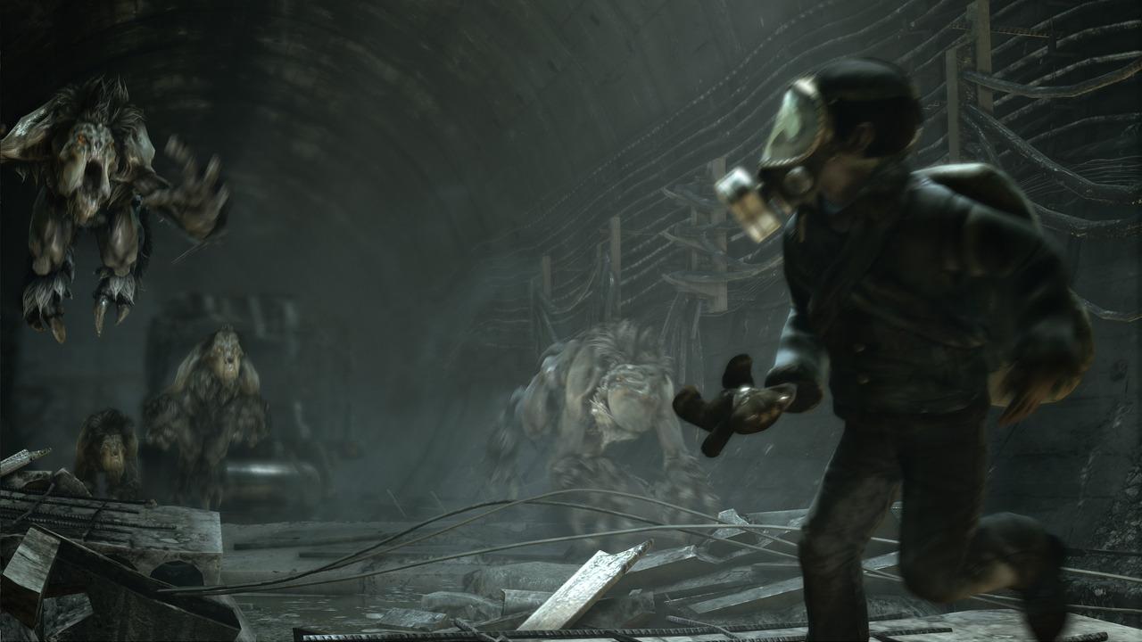 地铁最后的曙光最新游戏截图赏 次世代画面