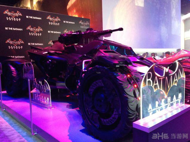 蝙蝠侠阿卡姆骑士蝙蝠车3