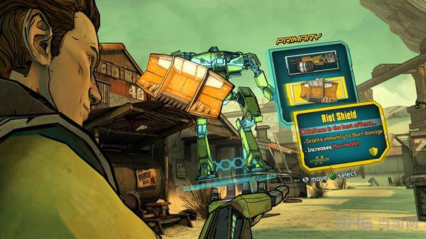 e3 2014:无主之地2前传最新游戏截图赏