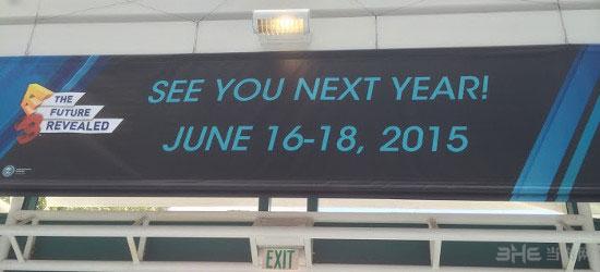 2015年E3展举办时间