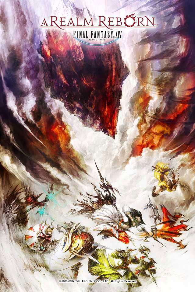最终幻想14重生之境史克威尔放送高清全尺寸插画壁纸8