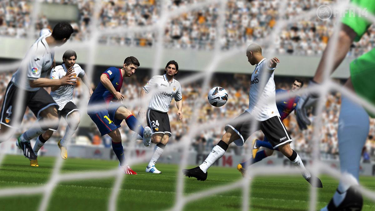 FIFA14最新游戏截图曝光 为巴西世界杯喝彩