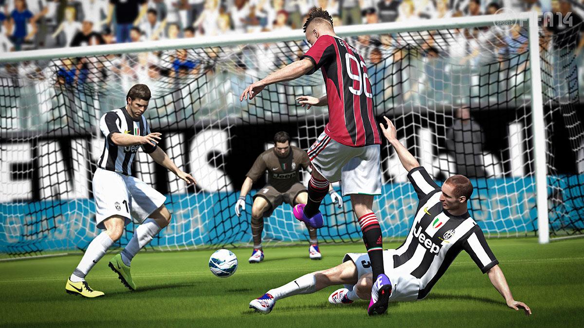 FIFA14游戏截图曝光 令人回味无穷