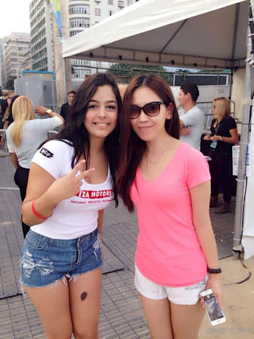 2014世界杯八卦第九期 7大美女争奇斗艳 图片