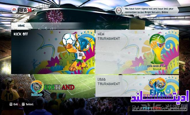 FIFA14巴西世界杯中文破解版下载 为世界杯呐