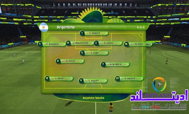 fifa14巴西世界杯游戏截图4