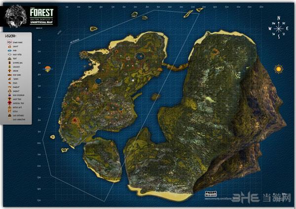 森林游戏全地图设置