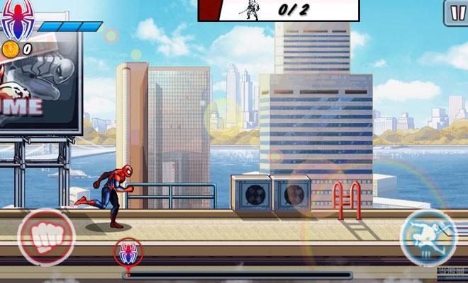 蜘蛛侠跑酷电脑版截图6