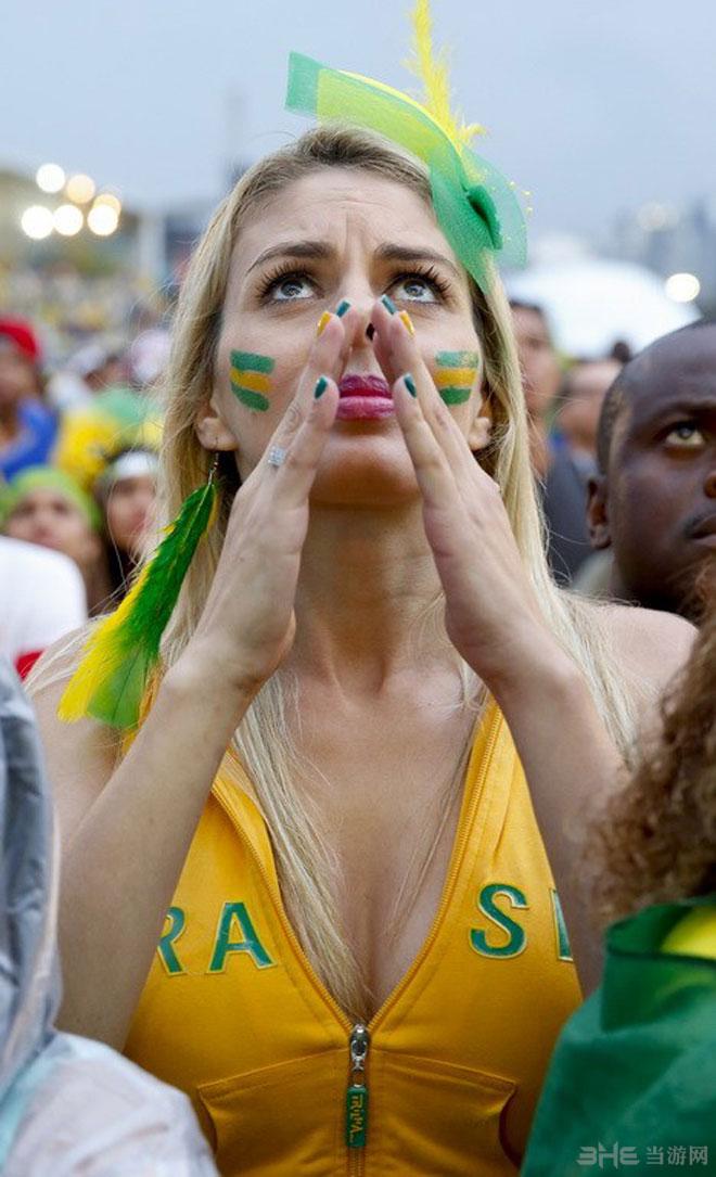 2014世界杯半决赛美女球迷图集4