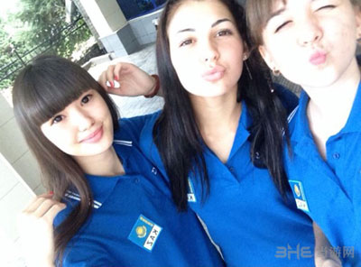 女子排球锦标赛哈萨克女排队员altynbekova