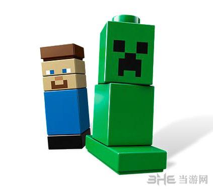 我的世界系列版乐高玩具