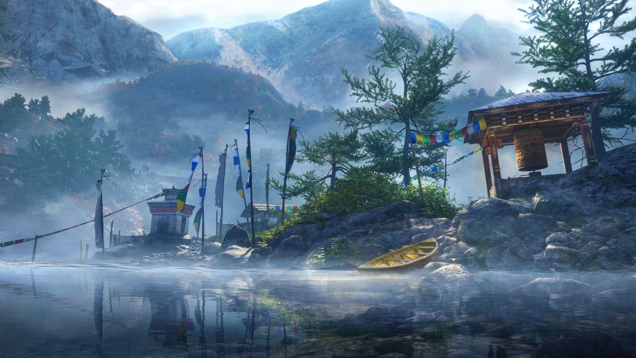 孤岛惊魂4游戏截图欣赏 美轮美奂
