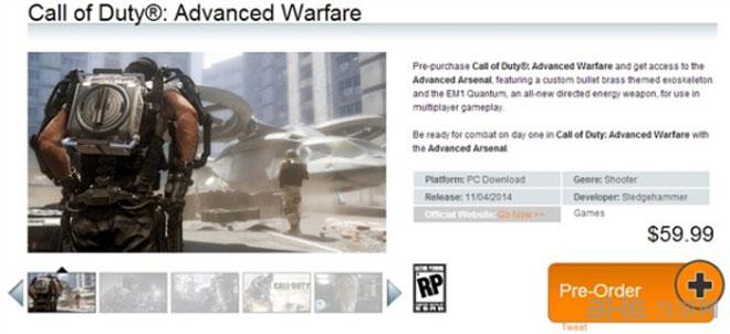 使命召唤11高级战争PC版配置3