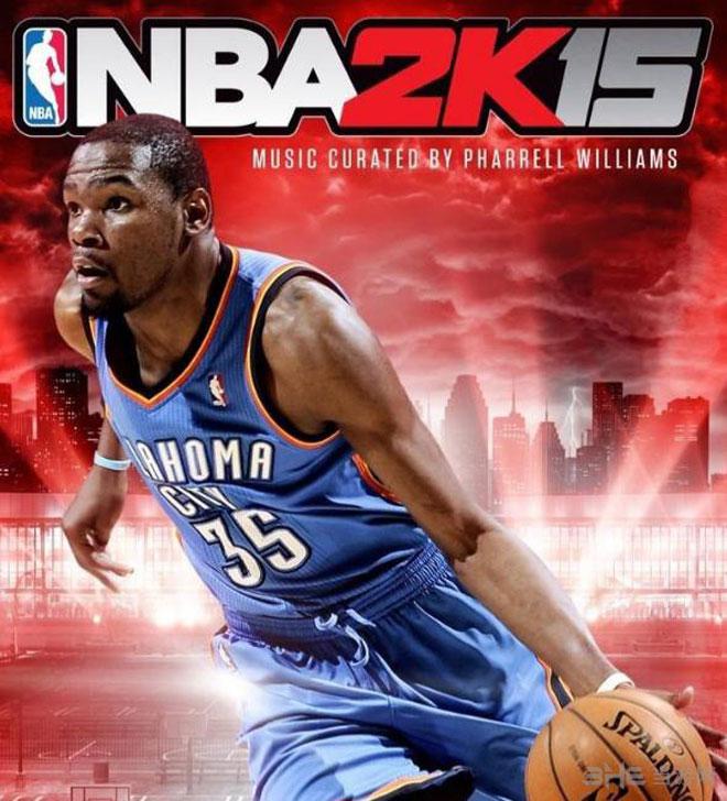 NBA2K15封面