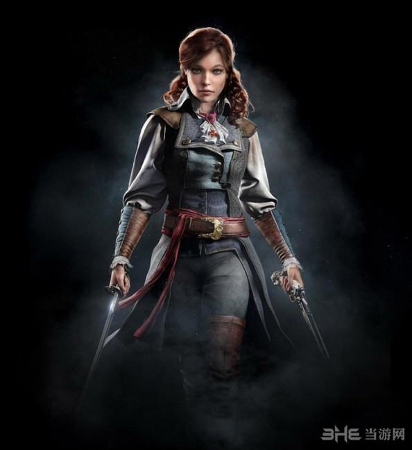 刺客信条大革命女主角Elisa