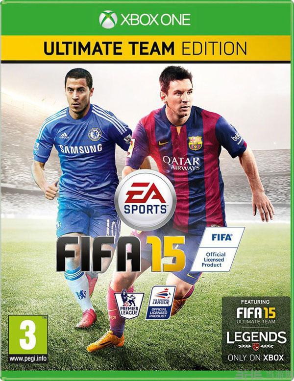FIFA 15英国版封面图