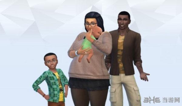 模拟人生4小朋友和小宝宝形象