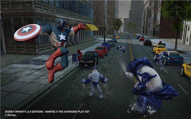 迪士尼无限2:漫威超级英雄截图2
