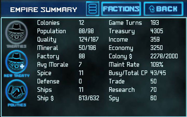 星际商贸:4X 帝国截图1