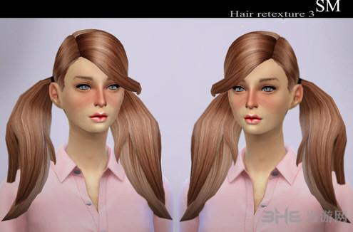 模拟人生4双马尾mod 模拟人生4女性新建模双马尾