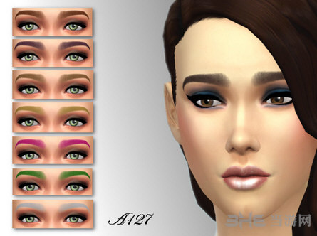 模拟人生4平直眉mod 模拟人生4女性平直眉