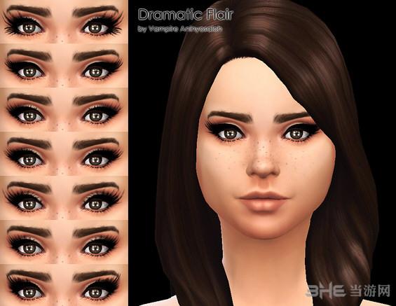 戏剧瞳_模拟人生4富有戏剧性的瞳孔Vampire下载_模