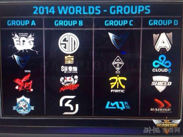LOL2014赛季S4总决赛分组公布 2