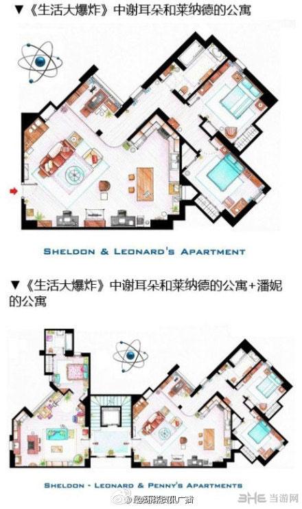 模拟人生4经典美剧房屋平面设计图4