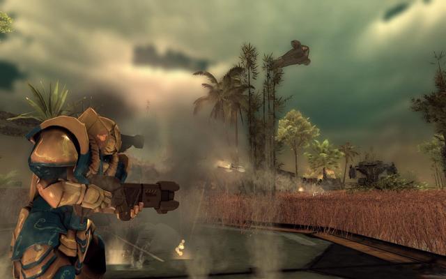 机甲与佣兵:黑爪截图0