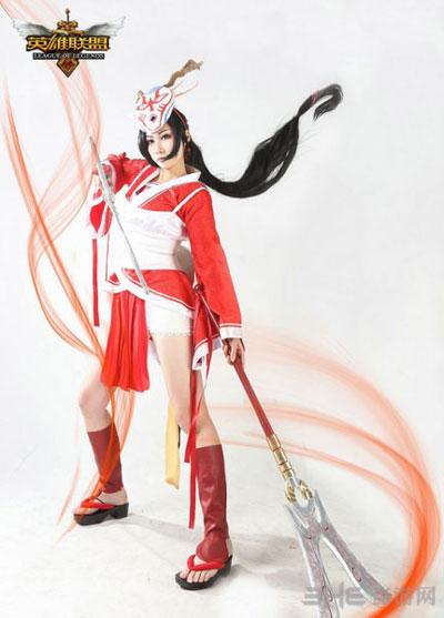 英雄联盟女英雄cosplay美女图片